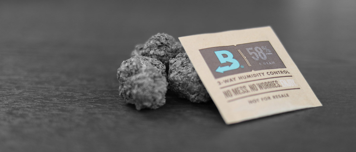Boveda 58% RH with cannabis