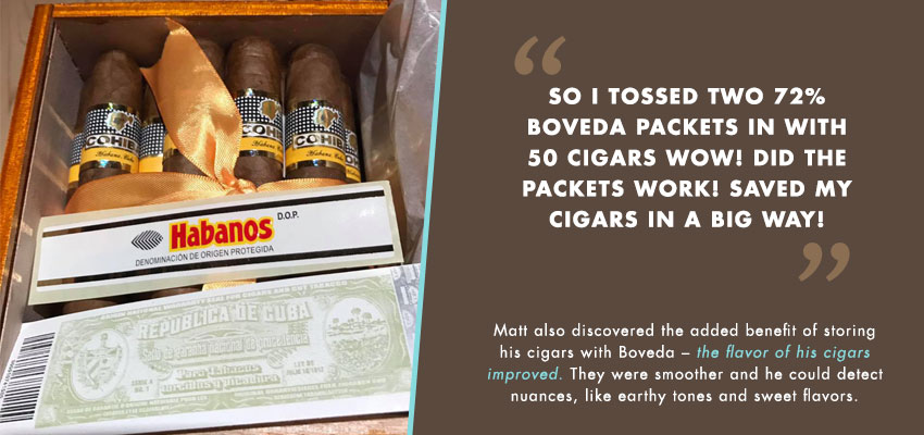 Matt dried cigars quote