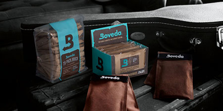 Humidification with Boveda